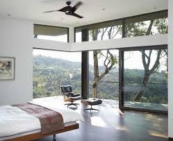 solid glass doors enriching modern