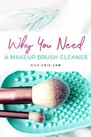 makeup brush cleaner diy essential oil