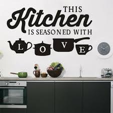 Removable Kitchen Wall Sticker Kitchen Restaurant Vinyl Mural Wall Decal Decor Ebay