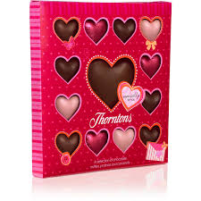 thorntons chocolate heart collection