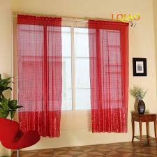 Amazon Com Lqiao 2019 New Sequin Red Curtains 50x84in Sparkly Red Sequin Fabric Photography Backdrop For Bedroom Kitchen Kids Room Or Living Room 1 Panel Drapes 50x84in Home Kitchen