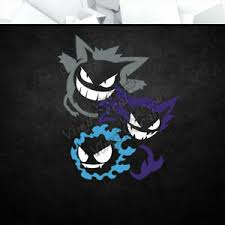 Gengar Haunter Gastly Pokemon Vinyl Decal Sticker Nintendo Car Laptop Pc Decor Ebay