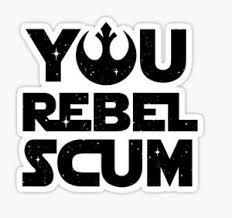 Star Wars Rogue One Rebel Scum Rebels Empire Sticker Decal Car Laptop Cute Ebay