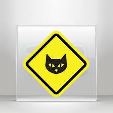 Decal Stickers Domestic Cat Area Helmet Atv Bike Garage Bike A19 3x766 Ebay