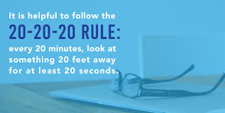 how to avoid eye strain while reading