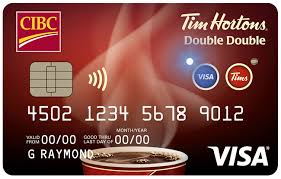 tim hortons double double visa card cibc