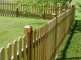 6 Picket Wood With 4 Pickets America S Fence Store