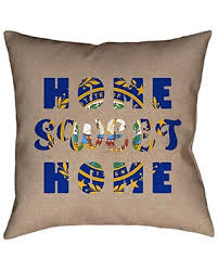BIG Deal on ArtVerse Katelyn Smith Sweet Home State N's Pillow Cover (No  Fill) - Faux Suede, 16 x 16, New Hampshire