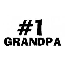 1 Grandpa Sticker