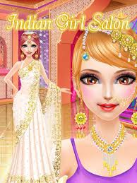 indian bridal makeover and dress up