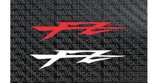 logo stickers for yamaha fz bikes