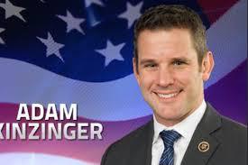 Adam Kinzinger announces bid for re-election