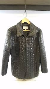 lambskin leather jacket xl