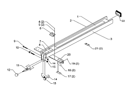 Buy Biesemeyer 78 902 Type 1 42 Inch Commercial Fence Replacement Tool Parts Biesemeyer 78 902 Type 1 Diagram