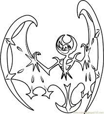 Pokemon Coloring Pages Solgaleo And Lunala