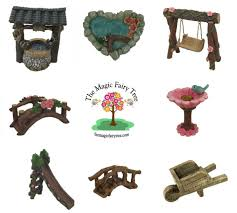 miniature fairy garden wooden wishing