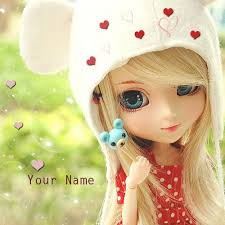 name on little beautiful barbie doll