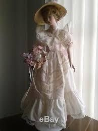 Priscilla 1993 Hamilton Collection Series For Vintage Porcelain Doll  Collector