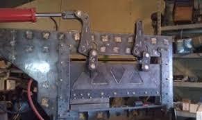 homemade 48 press brake