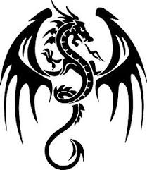 Dragon Tribal Fantasy Myth Wall Car Truck Window Vinyl Sticker Decal 6 Ebay