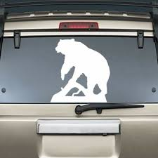 Black Bear Hunting Vinyl Sticker Decal Car Truck Laptop Netbook 1472 Auto Parts And Vehicles Car Truck Graphics Decals Magenta Cl
