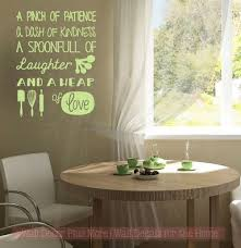 Pinch Of Patience Heap Of Love Kitchen Wall Decor Vinyl Lettering Art Family Wall Decals