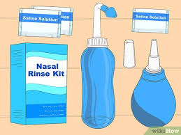 how to use a nasal rinse 13 steps