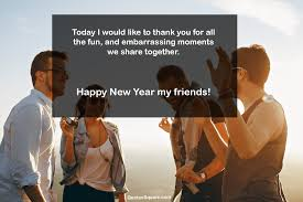 happy new year wishes for best friends happy new year