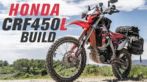 2019 honda crf450l light adventure bike