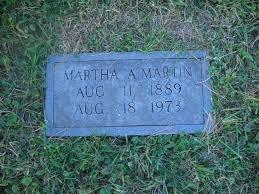 Martha Ada Martin (Marshall) (1888 - 1973) - Genealogy