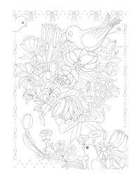 Trăm Hoa Đua Nở (Tô Màu Dành Cho Người Lớn) - Sách Tô Màu Dành Cho ...
