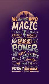harry potter and j k rowling quotes
