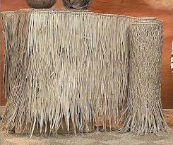 Quality Wholesale Palm Leaf Thatch Panels In All Sizes Tiki Hut Thatch Tiki