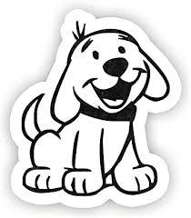Amazon Com Puppy Dog Sticker Laptop Stickers 2 5 Vinyl Decal Laptop Phone Tablet Vinyl Decal Sticker Computers Accessories