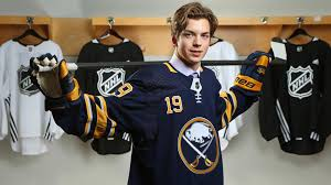 Johnson learned lessons from NHL dad, hopes to make impact with Sabres