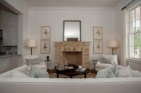 leaning fireplace mirror design ideas