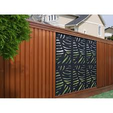 2 Ft H X 4 Ft W Cabo Wpc Composite Privacy Screen Fence Design Fence Panels Metal Fence Panels