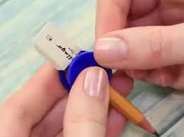 DIY好玩文具制作橡皮铅笔指尖陀螺- 废旧物品手工制作- 51费宝网
