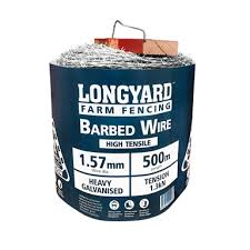 Longyard 1 57mm X 500m High Tensile Barbed Wire Bunnings Warehouse