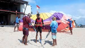 parasailing bali marine recreation