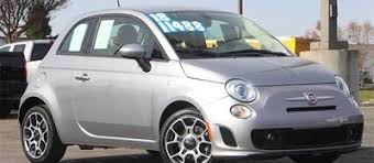 used 2019 fiat 500 in