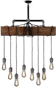 industrial rustic wood beam linear