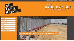 Visit Allfenceurent Com Au Temporary Fencing Fence Hire Perth All Fence U Rent