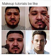 makeup meme channing tatum saubhaya