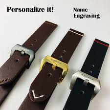genuine leather watch band strap