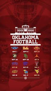 ou wallpaper football schedule 2016