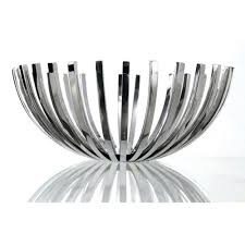 stainless steel fruit bowls alessi