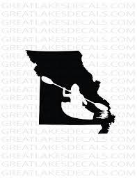 Kayak Missouri Vinyl Decal Sticker Etsy