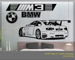 Jcm Custom M3 Gt2 M Power Sport Race Car Removable Wall Vinyl Decal Stickers Amazon Com