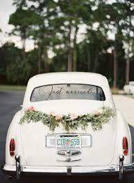 Just Married Vinyl Decal Wedding Car Window Decal Wedding Etsy